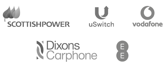 SCOTTISHPOWER - vodaphone - uSwitch - Dixons Carphone - EE