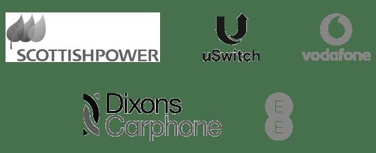 SCOTTISHPOWER - vodaphone - uSwitch - Dixons Carphone - EE